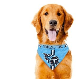 NWT NFL Tennessee Titans Dog Cat Pet Bandana